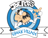 Joe Feta's Greek Village Logo